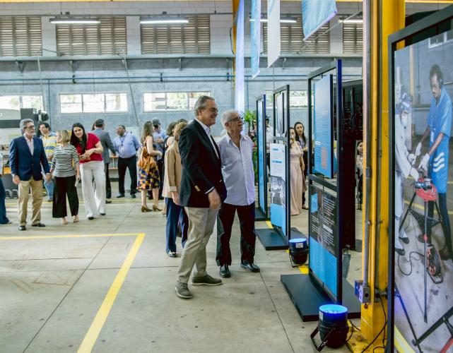 Exposição conta a história dos 70 anos da Firjan SENAI em Campos