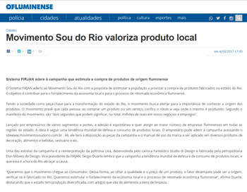 Movimento Sou do Rio valoriza produto local